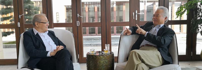 吴士存会见菲律宾驻华大使罗马纳