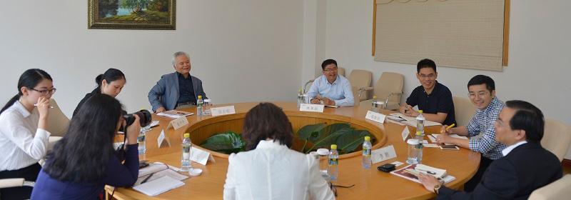 厦门大学台湾研究院专家访问我院