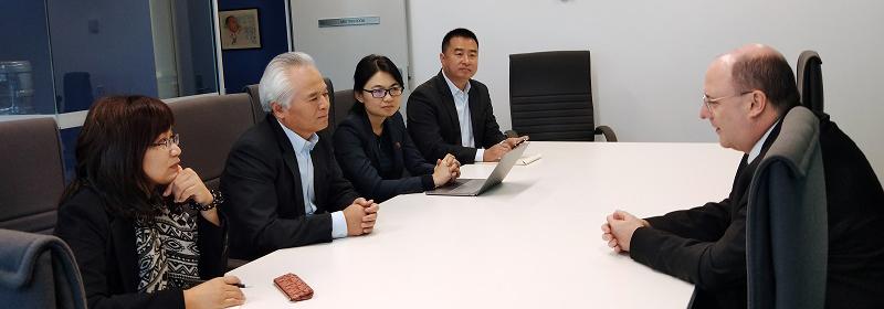 吴士存访问澳大利亚国家海洋资源与安全中心