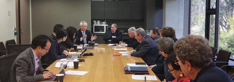 吴士存访问澳大利亚国立大学和战略政策研究所
